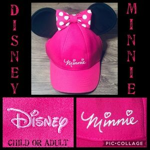 Minnie Mouse Disney Hat! Authentic! Child or Adult